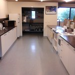 The fully appointed kitchen