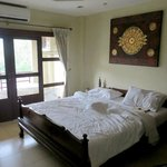 Both bedrooms have air conditioning (cost 1000 baht monthly)