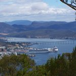 Hobart from Mt Nelson
