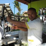 Best bartender there! He made me yummy drinks and fer payment he took a lil piece of my heart ;)