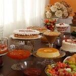 Tortas, Bolos, Pudins, Doces Caseiros etc