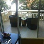 Balcony from Room 2A