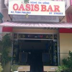 OASIS - when sitting outside you enjoy the view of the port