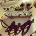 Step in today and try our homemade Mint Aero Cheesecake.