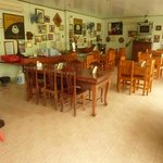 The restaurant/breakfast room