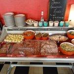 buffet pour repas de groupe