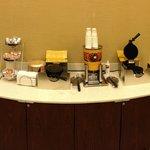 Breakfast - waffle station