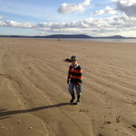 Pembrey beach in March