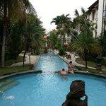 Very long pool
