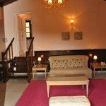 """Villa """"Pentavloi"""" living room"""