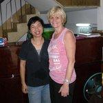 Me with Ngoc (Mrs Long's Niece)