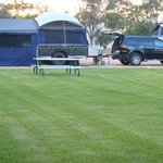 Generous sized pads for your camper trailer with large Annex