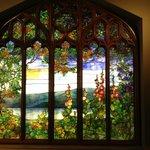 Tiffany Window in the Corning Museum