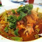 The famous curry fish head