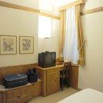 La camera confortevole e pulita