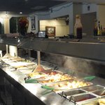 View of buffet.