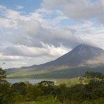 volcan et lagune Arenal
