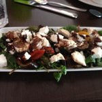 roast Mediterranean salad (bit blurry but yummy)