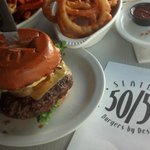 2/3-pound burger