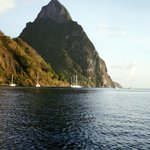 """Another view of """"Le Petit Piton"""""""