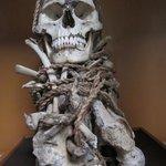 Leymebamba Museum: Skelett-Bündel aus den Grabstätten