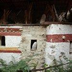 Leymebamba Museum: Rekonstruktion der Grabstätten in Felswänden