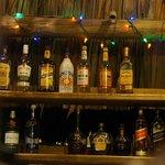 the bar at Pico Bonito