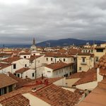 View from the Tornabuoni Terrace