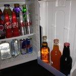 Non-alcoholic mini bar