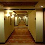 El pasillo de los cuartos