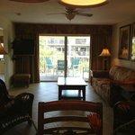 Living room unit #101