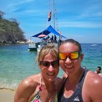 Diana's private beach