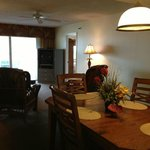 Dining & Living room are in unit #308