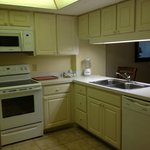 Kitchen in unit #308