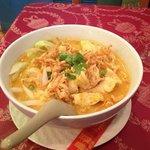 burmanese meal....