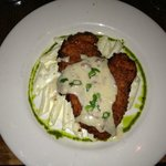 Chicken fried chicken at Saffire, Franklin, TN