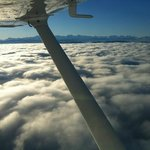 View from a Cessna 172