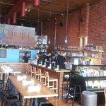 Interior of Café Gratitude