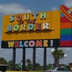 South of Border Sign