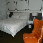 King room at The Hotel Vertigo
