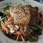 Sesame Salmon salad!!