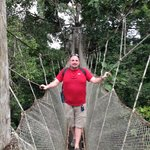 Canopy Walk at ExplorNapo Lodge