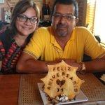 Greenhouse Cafe, Dorado, PR celebrating our 31 wedding anniversary. Photo by Janet Santiago Negr