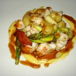 Lobster tail w.gnocchi