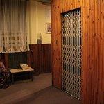 Upper coridors/elevator.