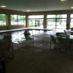 Pool Deck is huge and nice