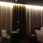 luxurious plush bedroom