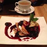 Q4 Napoleon  (Cherry, Marscapone, and Philo Pastry)
