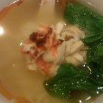 Lee Tong Kee Special (Ipoh Hor Fun served with shredded chicken & prawns) - soup