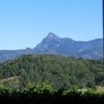view to Mount Warning from Cottage bedroom